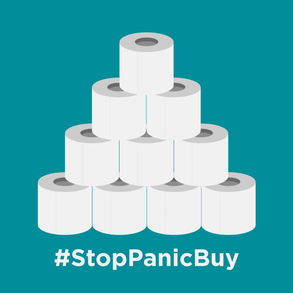 #StopPanicBuy